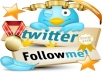 provide 500 REAL twitter followers to any twitter account