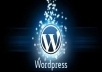 create a website for you in wordpress theme