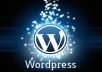 install wordpress on your web site