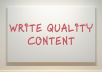write a high quality content up to 500 words