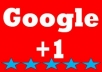 provide 1000 Google Plus Unique onlys