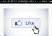 Get UNLIMITED FACEBOOK LIKES, Youtube Views, Pinterest Likes, Instagram Likes