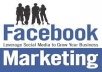 advertise Any Link or Website To Over 23million Facebook Real Users