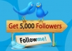 send you 5500 real Twitter followers to increase your social media and SEO