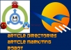 give you 13,000 article directories for use in article demon or article marketing robot