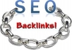 backlink your site with quality backlinks building to more than 1000 high ranking SEO backlink for