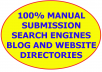submit your site to 40 TOP USA,UK,Canada,Austria,France search engine and MANUALLY submit to 5pr7,8pr6,11pr5,9pr4,8pr3,2pr2 [40+] blog & website directories for HIGH SERP rankings and good backlinks
