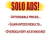 traffic Your Solo ads Or Message Ads To 540 000 Active Responsive Lists