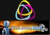 give you 50,000 article directories specifically for article marketing robot..amrx file