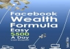 teach you how to make $500 daily from facebook.