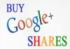 1500 GOOGLE shares or Circles or followers for your site or profile