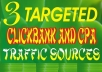 reveal 3 Networks that Sell 50,000 Targeted Traffic to Promote Cpa and Clickbank