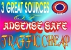 reveal 3 Great Sources of Buying up to 1,000,000 Adsense Safe Visitors Cheap
