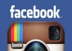 provide 1,000 Good Quality Facebook fanpage/post /photo like OR 1000 Instagram Followers OR 1000 Instagram Likes