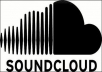 give 50000 real soundcloud plays + 1000 downloads