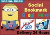 Give you 40 Tweets, 30 FB Web Likes, 25 LinkedIn Share, 35 FB Share, 40 Google+1votes and 20 pin