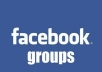 submit your URL to 200 facebook groups wall with over 100000 Members Each