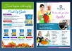 design attractive flyer, leaflet, brochure, postcard, banner, billboard any single design up to A5 size 1 side