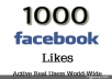 Get You Real 1000+ Facebook fanpage, Photo,Post,Video Likes Or Followers,Subscribers