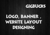 create unique and creative logo, website layouts designing , photoshop stuff, photoshop editing, postcard design