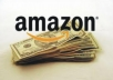 show you a simple method on how to generate tons of sales from amazon dot com