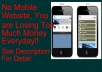 help you to design a professional mobile website, no loss anymore