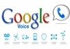 sign you up for Google Voice, even outside the US