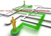 add 1500 quality seo BACKLINKS to your URL and ping it
