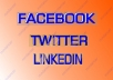 Do SOCIAL SIGNALS & SEO Service- 35 FACEBOOK SHARE,35 TWEET,35 LINKEDIN SHARE TO BOOST SEO