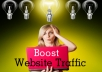 boost your site with streams of traffic from capture pages and blogs