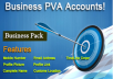 create manually 5 pva facebook