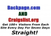 Send 200 Daily Visitors From Craigslist And Backpage To Your Site