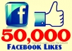 get you 50000+ Facebook Fans/Likes to any Facebook page