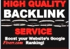 provide High Quality Backlink Your Url To Over 4500