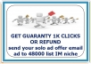 send your solo ad offer email ad to 48000 list IM niche