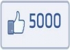 give you 5000 likes on facebook