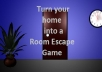 turn your home into an Escape Room Game