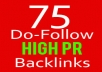 Manually do FOLLOW 2 PR7 + 7 PR6 + 10 PR5 + 25 PR3 + 31 PR2 Highpr Blog Comment SEO Backlink