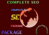 provide All In One Ultimate SEO Service
