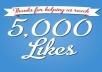 add 5000+ facebook page likes / post likes/ followers in 24 hours