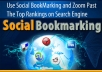 Create Hummingbird Safe 100+ Social-Bookmarking on High PR-1 to PR-4 Websites