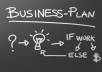 send you 31 page customized business plan template