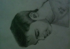 I ll draw any kind of portraits of you or any thing in pencil looks like same and 3D