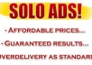blast Your SOLO Ads And Email Ad To 11000000 Responsive Real List