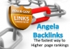 create 20 dofollow PR 6 + Angela backlinks and 20 gov/edu backlinks