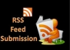 submit your RSS Feed to Over 170 Sites and Directories