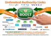 Mix Of High Quality backlinks for your site and keywords