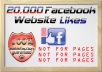 give 20 000 facebook likes to your website or blog