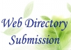 submit your website to 100 SEO friendly high pr web directories