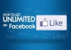 show you where to get unlimited real human facebook fan likes